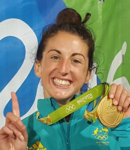 Alica Quirk Olympic Gold